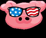Merica Pig