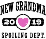 New Grandma 2019 t-shirts
