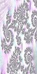 Classy Purple Fractal Art