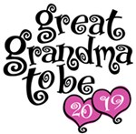 Great Grandma To Be 2019 t-shirts
