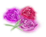 Glass Flower Designs