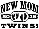 New Mom Twins 2019 t-shirts