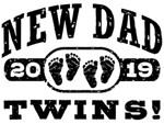 New Dad Twins 2019 t-shirts
