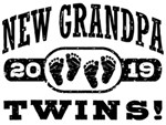 New Grandpa Twins 2019 t-shirts