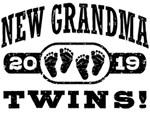 New Grandma Twins 2019 t-shirts