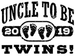 Uncle To Be Twins 2019 t-shirts