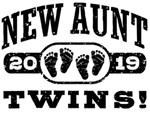 New Aunt Twins 2019 t-shirts