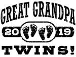 Great Grandpa Twins 2019 t-shirts