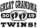 Great Grandma Twins 2019 t-shirts