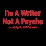 Writer Not Psycho