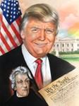 Donald Trump and Andrew Jackson