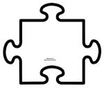 Paint Your Own Puzzle Piece