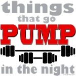 Bodybuilding PUMP in the night