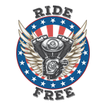 Ride Free with Stars and Stripes