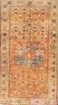 Blue Floral Oriental Carpet