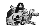 GODFATHER OF GRUNGE / LIVE MUSIC IS BETTER!