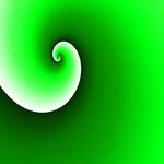 GRADIENT SPIRAL GREEN