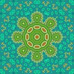 Turtle Island Art Mandala