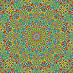 Kaleidoscope Art Mandala