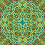 Garden Party Art Mandala