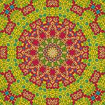 Rosette Art Mandala