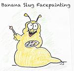 Banana Slug Facepainting