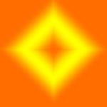 ORANGE YELLOW DIAMOND