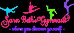 Sara Beth's Gymnasts Logo and Tagline