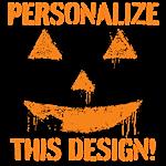 Personalized Graffiti Pumpkin