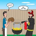Unsafe Turkey Frying