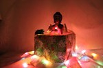 Buddha in a Christmas Present