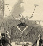 Dutch Equilibrist At Astleys 1846