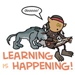 Oona: Learning is Happening!