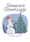 Season's Greetings Greeting Cards