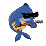 Blue-sy Whale