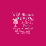 53rd Birthday Party