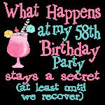 58th Birthday Party