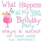 59th Birthday Party