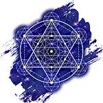 Geometry Space Blue