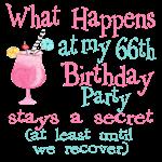 66th Birthday Party