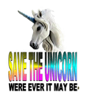 Save The Unicorn Funny Sarcastic T-shirt