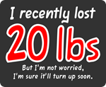 Lost 20 Lbs