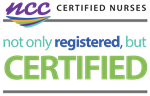 NCC Nurses registered and CERTIFIED