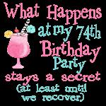 74th Birthday Party