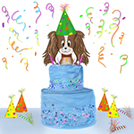 Happy Birthday Cavalier King Charles Spaniel With