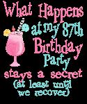 87th Birthday Party