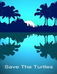 Costa Rica Blue Palms
