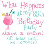 89th Birthday Party