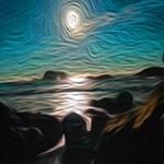 Ocean Coast Mystical Passage