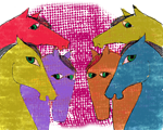 Colorful,whimsical Pony Design